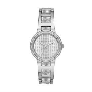 Michael Kors SS Swarovski Crystals Watch MK3984